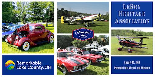Planes, Trains & Automobiles 2019 BBQ & Car Show at Pheasant Run Airport & Museum