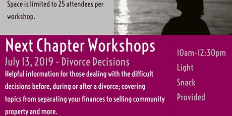 Divorce Decisions tickets