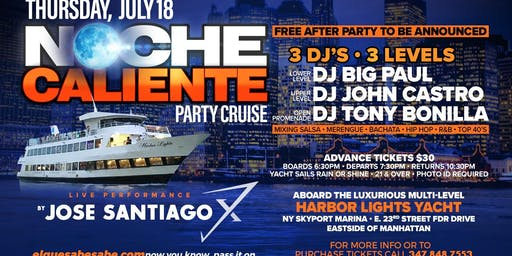 Noche Caliente Party Cruise