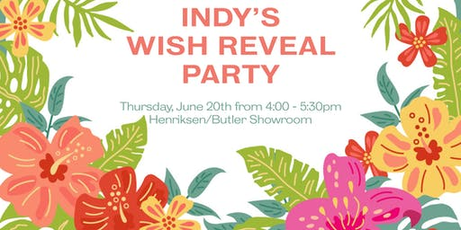 Indy's Wish Reveal Party