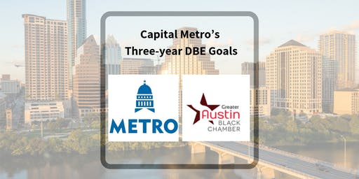 Capital Metro's Three-year DBE Goal