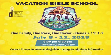 2019 Shiloh Baptist Church Vacation Bible School tickets