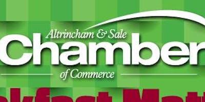 Chamber Breakfast - Altrincham & Sale Independent Chamber Breakfast #Networking