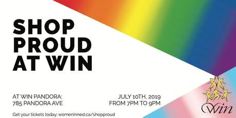 Shop Proud at WIN tickets