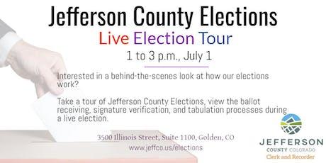 Live Election Tour tickets