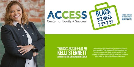ACCESS Black Biz Week: Access Points 2 | Loan Readiness tickets