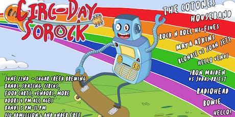 Circ-Day SOROCK tickets