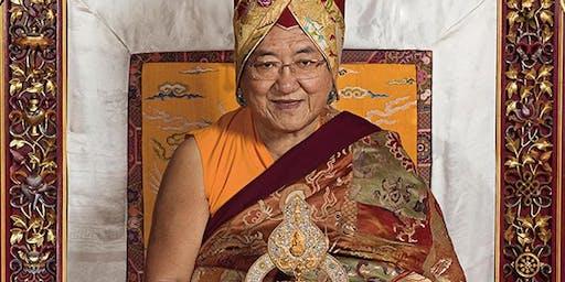 His Holiness Sakya Trizin: Wisdom Empowerment of Manjushri