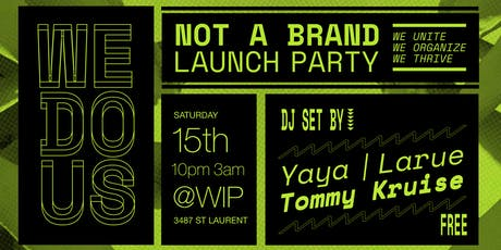 WE DO US - Launch Party tickets
