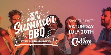 Cedars Annual Summer BBQ tickets