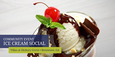 Villas at Hickory Grove Ice Cream Social
