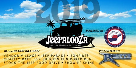"Gulf Coast Jeepalooza | ""The Jeep Event Like No Other!"" tickets"