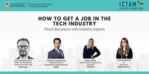 HOW TO GET A JOB IN THE TECH INDUSTRY