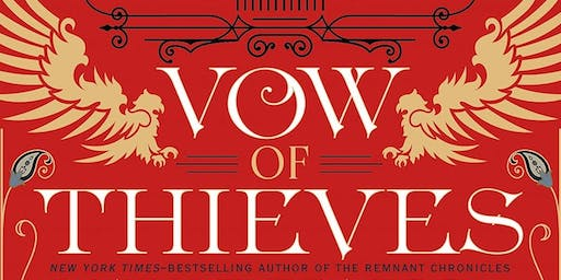 """Meet Mary E. Pearson discussing """"Vow of Thieves"""", the thrilling sequel to """"Dance of Thieves"""" at Books & Books!"""