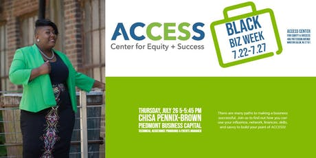 ACCESS Black Biz Week: Access Points 1 | Influence Readiness  tickets