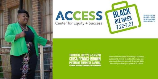 ACCESS Black Biz Week: Access Points 1   Influence Readiness