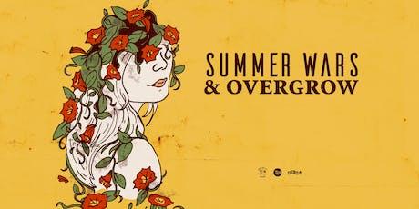 Summer Wars & Overgrow tickets