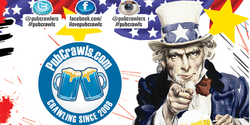 San Francisco July 4th Weekend Pub Crawl 2019