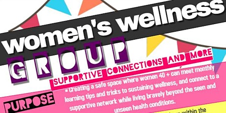 Supportive Connections, West End Women's Wellness Group tickets