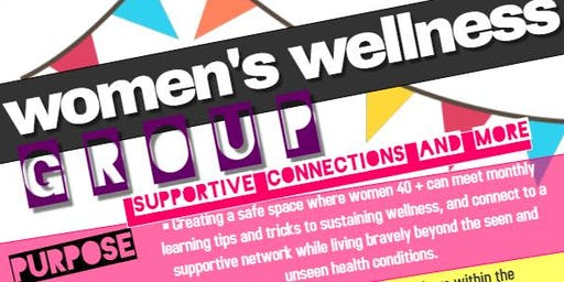 Supportive Connections, Women's Wellness Group
