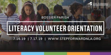 Bossier Parish Literacy Volunteer Orientation tickets