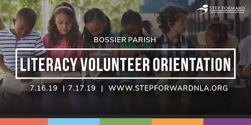 Bossier Parish Literacy Volunteer Orientation