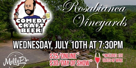 Rosabianca Vineyards Comedy Night tickets