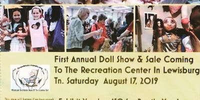 1st Annual Doll& Sale Showcase.Come dressed up like a doll