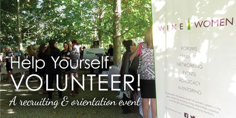 Help Yourself: Volunteer! Recruitment and Job Fair tickets