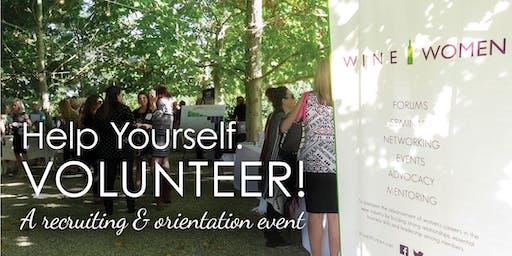 Help Yourself: Volunteer! Recruitment and Job Fair