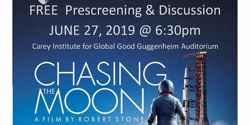 Chasing The Moon: FREE Prescreening & Discussion