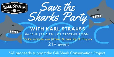 Save the Sharks Party tickets