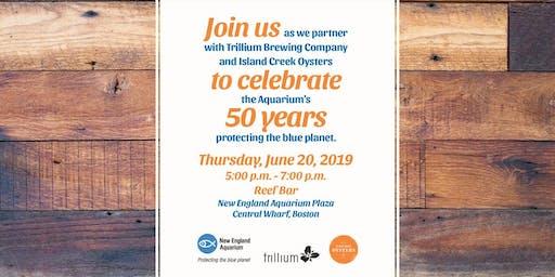New England Aquarium, Trillium Brewing Company & Island Creek Oysters Party