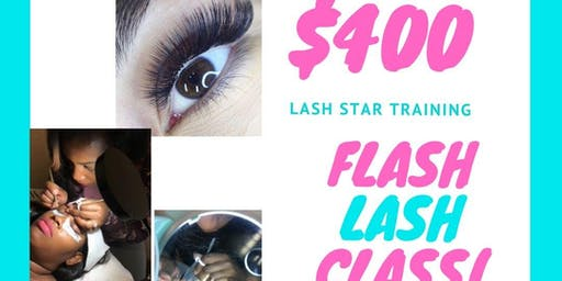 Professional Mink Lash Training Charlotte - FLASH CLASS $400