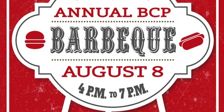 Annual BCP BBQ tickets