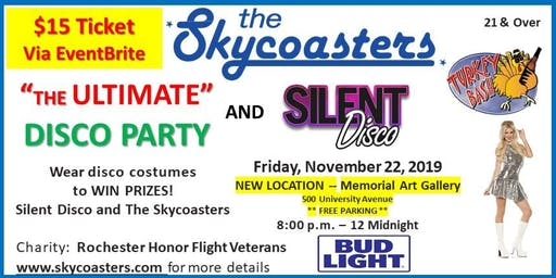 Skycoasters Ultimate Disco Party & Silent Disco Turkey Bash