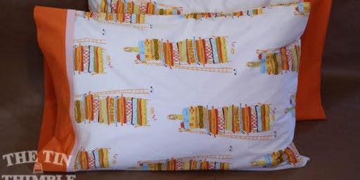 Learn How to Sew a Pillowcase - Intermediate Level