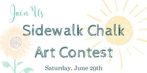 Sidewalk Chalk Art Contest