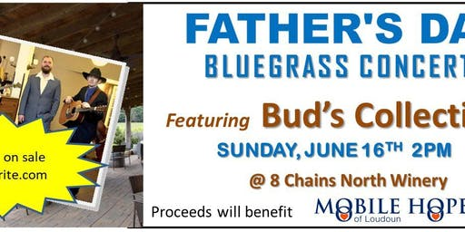 Father's Day Bluegrass Concert with Bud's Collective