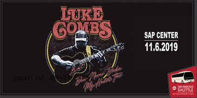 SAP Center Shuttle Bus - Luke Combs