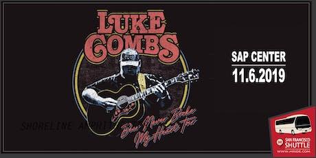 SAP Center Shuttle Bus - Luke Combs tickets