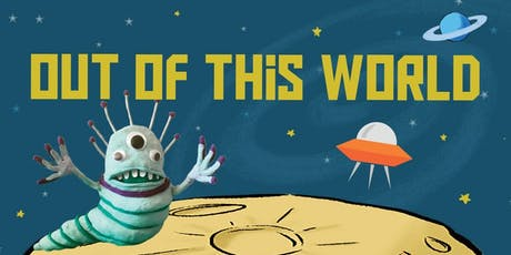 Family Arts Workshop: Alien Animation at Sutton in Ashfield Library tickets