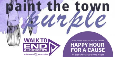 Paint The Town Purple: Happy Hour For A Cause! tickets