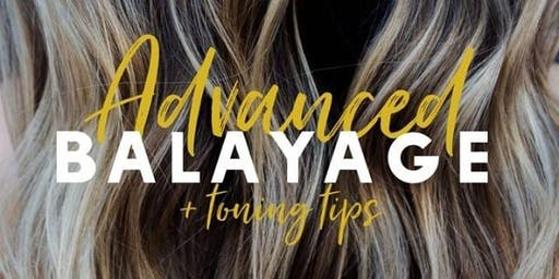 Advanced Balayage & Toning Class w/ Heather Ferguson