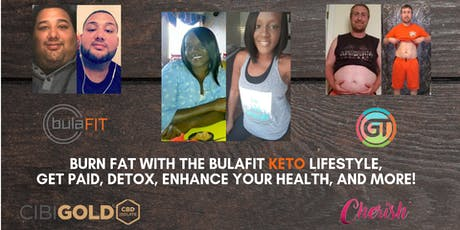 You've Gained Weight Now What?? Get BulaFIT! Keto Made Easy! Get Paid (Oxon Hill, MD)  tickets