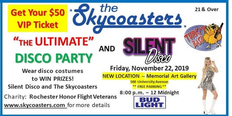 Skycoasters VIP Tickets for Ultimate Disco Party & Silent Disco Turkey Bash tickets