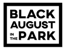 Black August in the Park logo