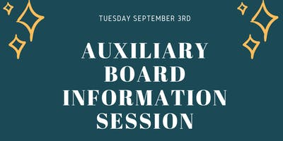Venture House Auxiliary Board Information Session