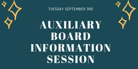 Venture House Auxiliary Board Information Session tickets