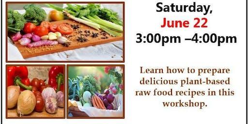 Raw Food Presentation